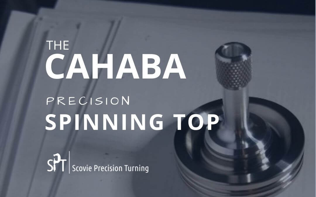 Cahaba - Scovie's first CNC-machined precision spinning top series
