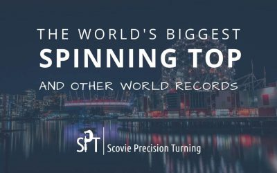 The world's biggest spinning top and other spinning top world records