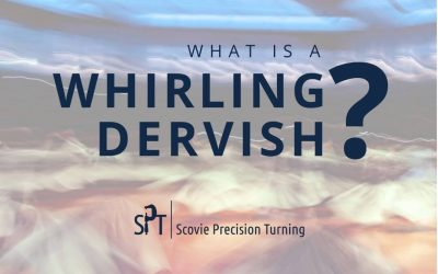 What is a whirling dervish? And what does it have to do with spinning tops?