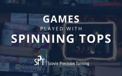 Games played with spinning tops