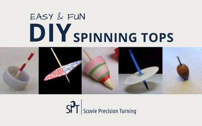 Homemade spinning tops—5 easy, fun ways to make your own tops