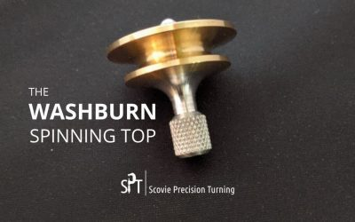 The small but mighty Washburn spinning top